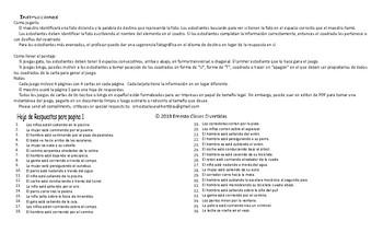 Movement Prepositions Spanish Legal Size Photo Tic-Tac-Toe-Bingo Game