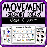 Movement & Sensory Break Visuals for Students with Autism