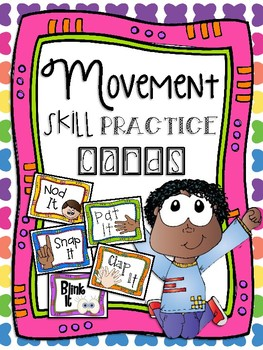 Movement Skill Practice Cards