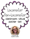 Movement Skills Classroom Visuals- Locomotor/Non-Locomotor