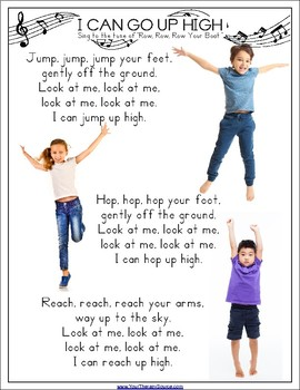 Movement Songs - EASY Brain Breaks, Body Awareness and Coordination Skills