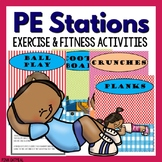 Physical Education Stations - Fitness and Exercise Activities