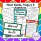 Movement Vocabulary Pack- Word Lists, Flash Cards & Activities