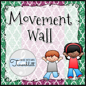 Movement Wall: Glitter Background