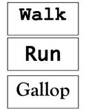 Movement Words