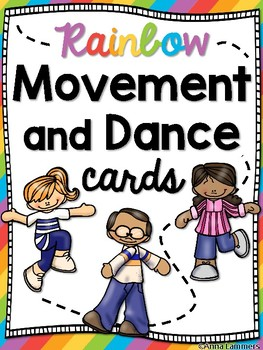 Music Movement and Dance Cards - Subs, Freeze Dance, Printable