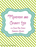 Movement and Gravity Test 5th Grade Ohio Science Aligned