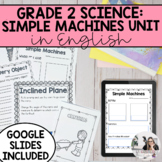 Movement and Simple Machines Unit (English Version)