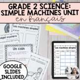 Movement and Simple Machines Unit/ Les machines simples PR
