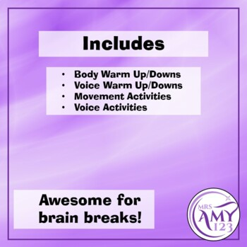 Movement and Voice Drama Activities