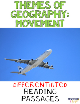 Movement in Geography Nonfiction Differentiated Reading Texts