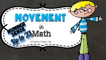 Movement in Math (NUMBER SENSE TO 20)
