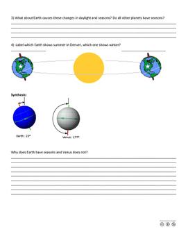 Movement of Earth: Understanding Seasons