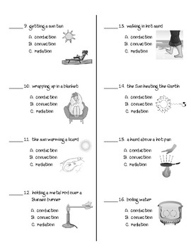 Movement of Thermal Energy WS