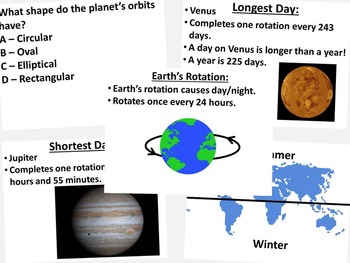 Movement of the Planets