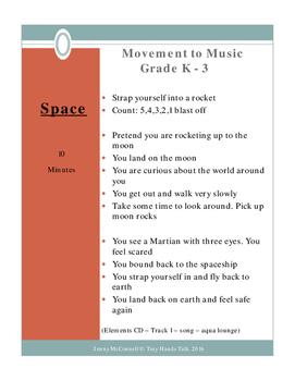 Drama - Movement Lessons - ELEMENTS - PreK-3