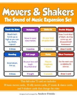 Movers & Shakers EXPANSION PACK 2 - Sound of Music Brain B