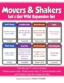 Movers & Shakers EXPANSION PACK 3 - Let's Get Wild Brain Breaks Card Game