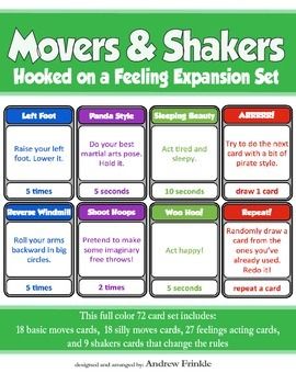 Movers & Shakers EXPANSION PACK - Brain Breaks Card Game a