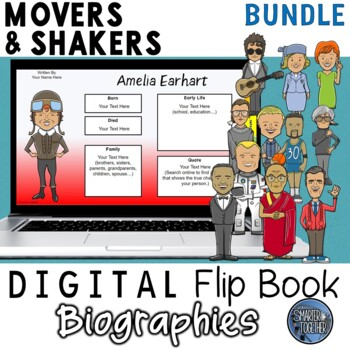 Movers and Shakers Digital Biography Template Pack