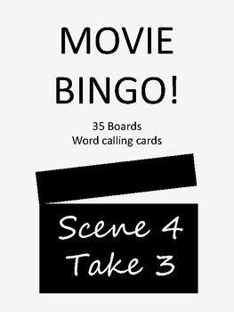 Movie BINGO!