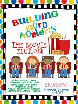 Movie Building Word Problems Center