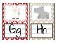 Movie / Cinema Themed Chevron Alphabet Cards Classroom Dec