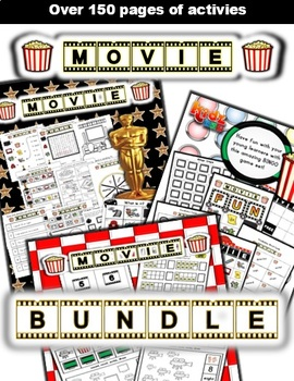 Movie Classroom Center Bundle