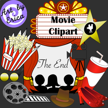 Movie Clip Art : Clipart about the Theater