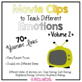 Movie Clips to Teach Different Emotions / States 70+ Clips
