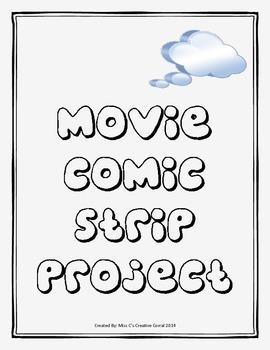 Movie Comic Strip - Media Literacy