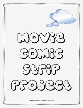 Movie Comic Strip - Media Literacy
