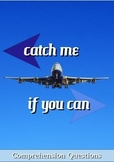 Catch Me If You Can Movie Guide + Activities  (Color + Black & White)