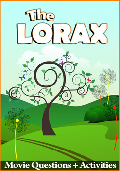 FREE: The Lorax Movie Guide - Answer Key Included