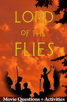 FREE: Lord of the Flies Movie Guide + Extra Activity - Answer Key Included