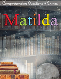 Matilda Movie Guide + Activities (Color + B/W) - Answer Keys Included