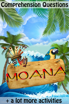 Movie Questions + Extras - Disney's Moana (2016) - Answer