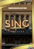 Sing Movie Guide + Activities - Answer Key Included (Color