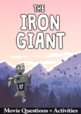 The Iron Giant Movie Guide + Activities - Answer Key Inc (Color + Black & White)