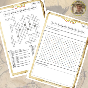 The Goonies (1985) - Movie Questions + Extras - Answer Key Included