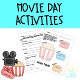 Movie Day Activities
