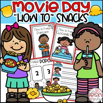 Movie Day How-To Snacks
