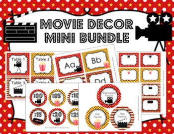 Movie Decor Mini Bundle