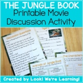 Movie Discussion Activity - The Jungle Book Movie Study!