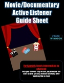 Movie/Documentary Active Listener Guide Sheet (Int-Adv)