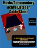 Movie/Documentary Active Listener Guide Sheet (Nov-Int)