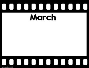 Movie Film Birthday Banners FREEBIE