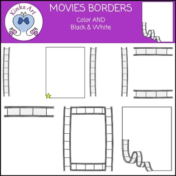Movie / Film Borders FREEBIE