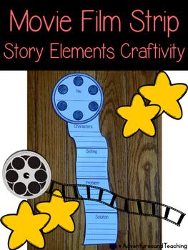 Movie Film Strip Story Elements {Craftivity}