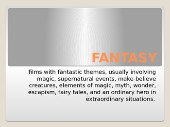 Movie Genre: Fantasy
